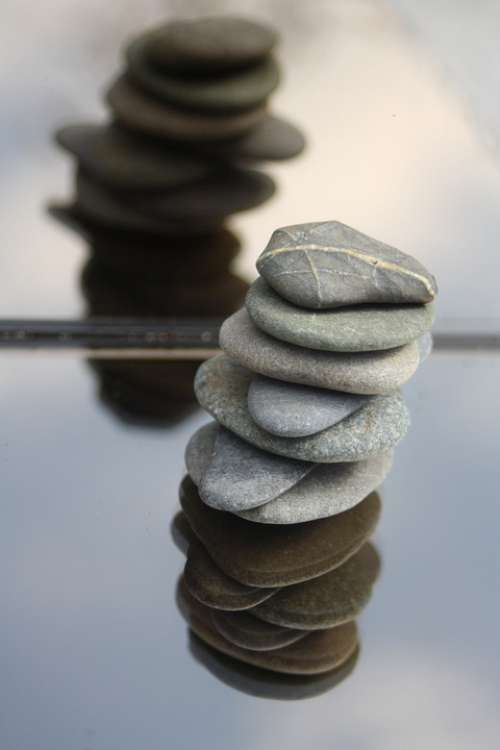 Stones Balance Meditation Tower Stacked Wellness