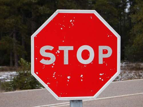 Stop For Signal Red