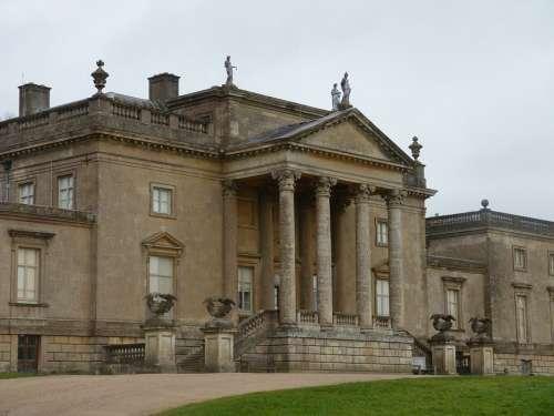 Stourhead Garden England House
