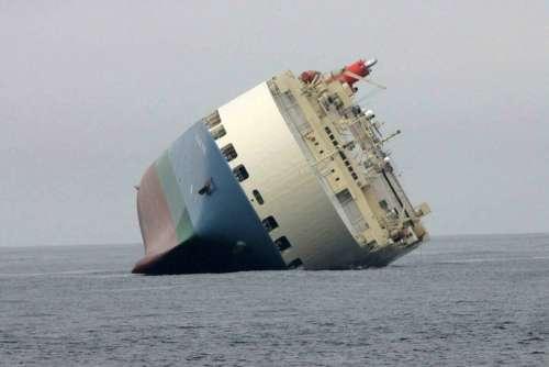 Stranded Ship Big Ocean Cross Boats Ships