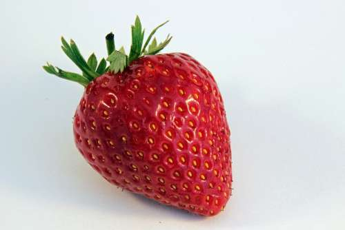 Strawberry Red Delicious Sweet Fruit Food Plant