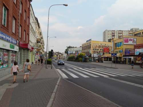 Street Architecture Poland In Saw