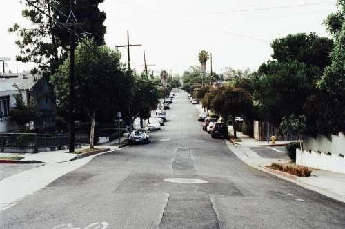 Street Road Urban Grey Grunge Old Vintage City