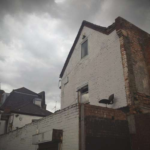 Street House Urban Architecture Old Grunge