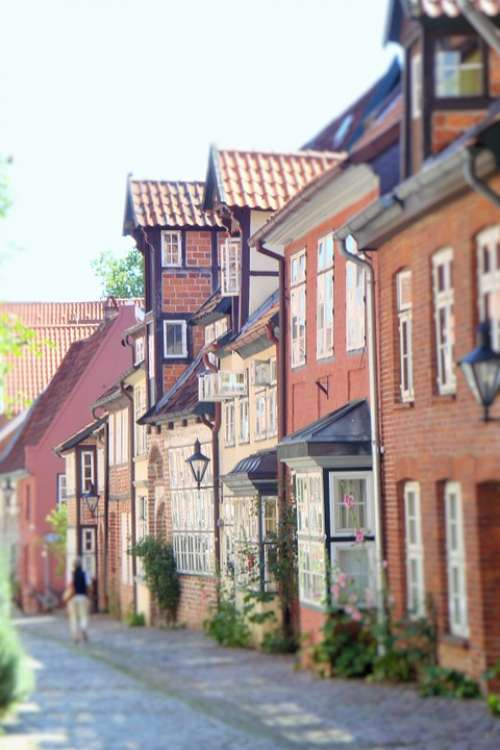 Street Houses Germany