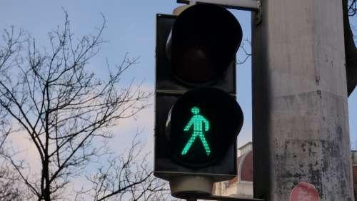 Street Light The Green Light Signaling Street