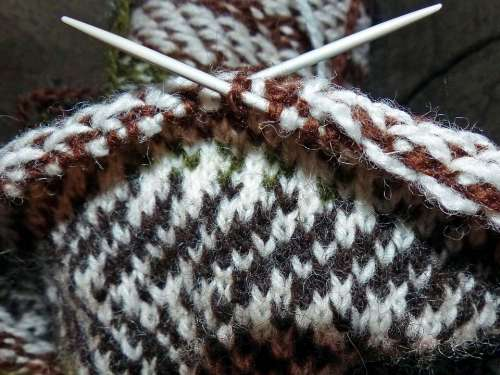 Strikketøy Knit Hand Work Knitting Needles Pattern