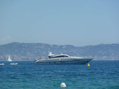Suedfrankrieich Theoulle Sur Mer Yacht Sea Ship