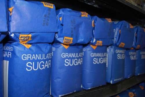 Sugar Granulated Sweetener Sweet Packages Store