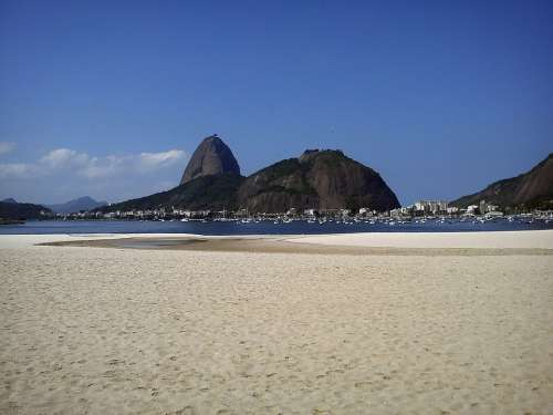 Sugar Loaf Pão De Açúcar Botafogo Beach