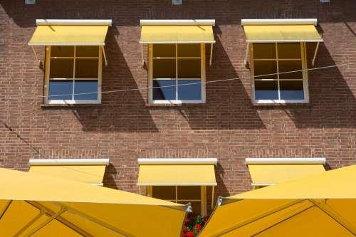 Summer Balcony Sun Protection Building