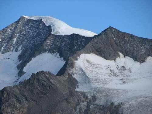 Summit Alpine Großvenediger Summit Cross Roped