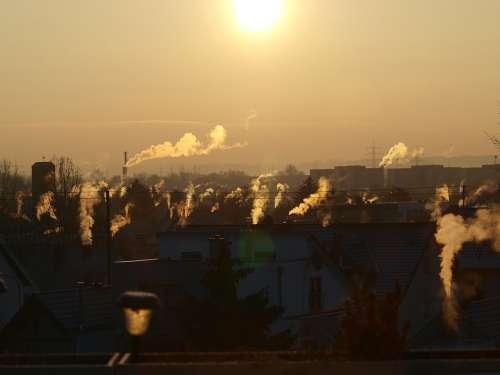 Sun Sky Sunset Abendstimmung Clouds Panorama