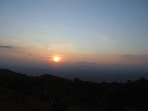 Sun Nature Scenic India Forests Western Ghats