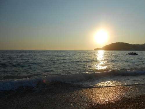 Sun Sea Sunset Albania Holidays Summer