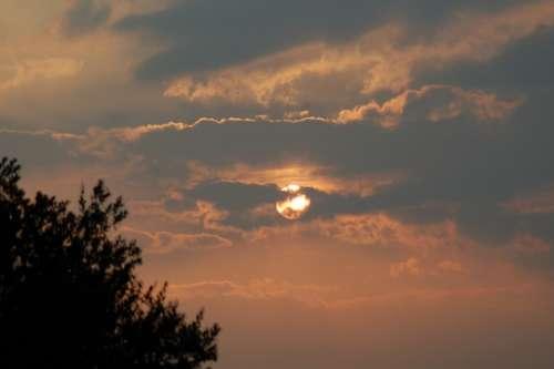 Sun Clouds Sky Weather Sunlight Sunset Cloudscape