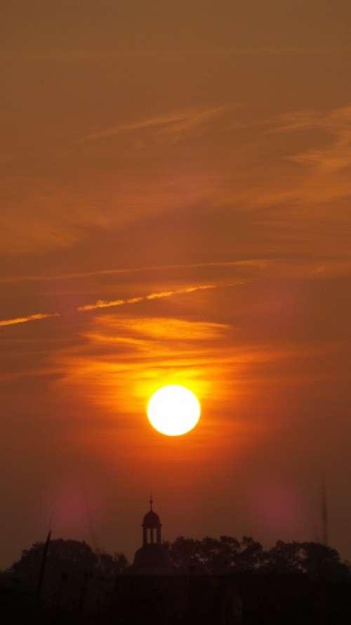 Sun Morning Mood Sunrise