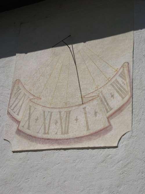 Sundial Time Slovenia Clock Time Indicating