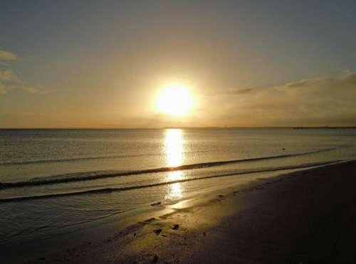 Sunrise Beach Sea Baltic Sea
