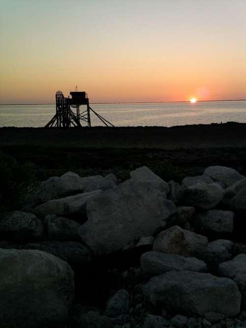 Sunset Ocean Summer