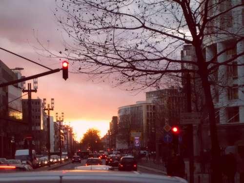 Sunset Street Cars