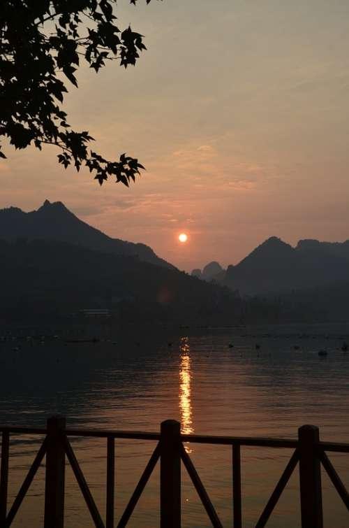 Sunset Lake Bama