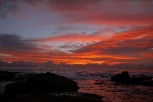 Sunset Superb View
