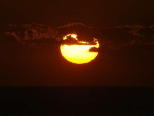 Sunset Sol Sunrise Dusk Dawn