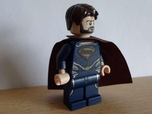 Superman Held Action Hero Power Fantasy World