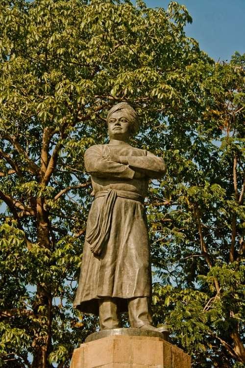 Swami Vivekanand Statue India Indian Turban