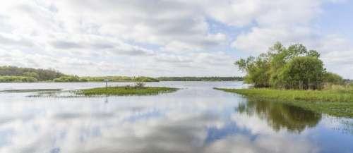 Swamp Loire Atlantique Panorama