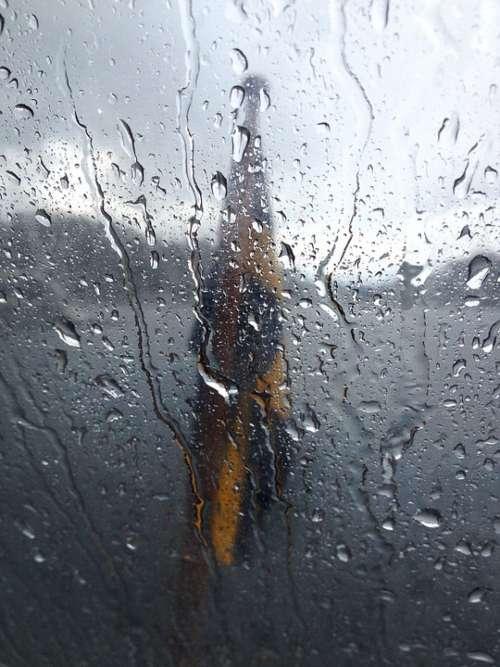 Swedish Flag Rain Archipelago Chapel Boat Water