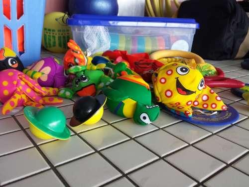 Swim Animals Children Toys Water Fun Wet Fun