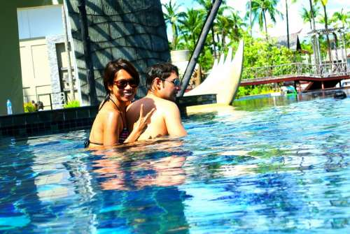 Swimming Pool Outdoor Pool Resort Thailand Khao Lak
