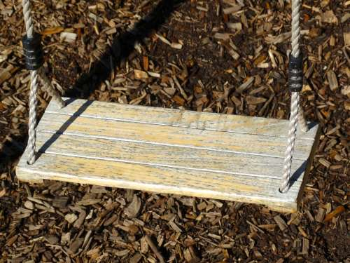 Swing Swing Seat Rope Playground