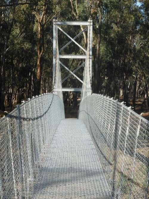Swing Bridge Pedestrian Bridge Suspension Bridge
