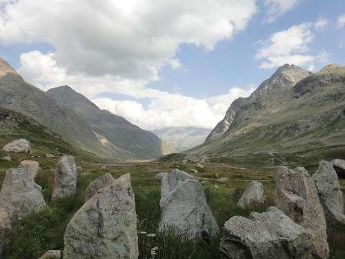Switzerland Mountains Graubünden Alpine