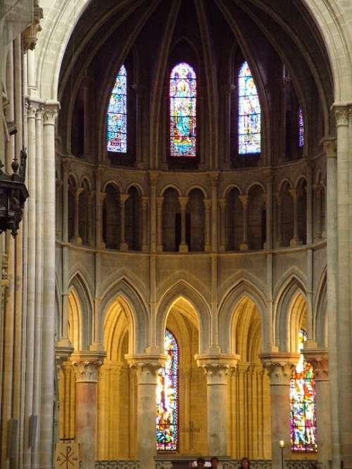 Switzerland Lausanne Cathedral