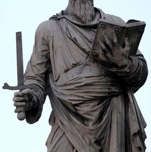 Sword Statue Martyr