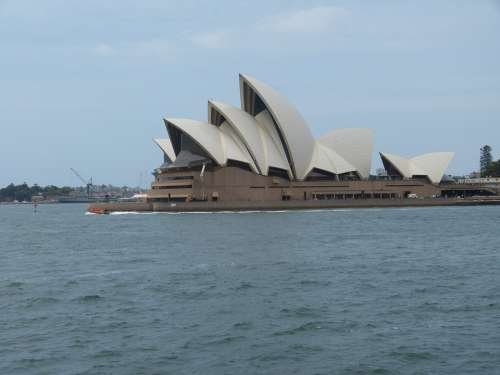 Sydney Port Sea Australia City Opera Building