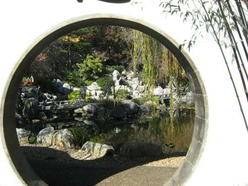 Sydney Garden Chinese Tranquil Asian