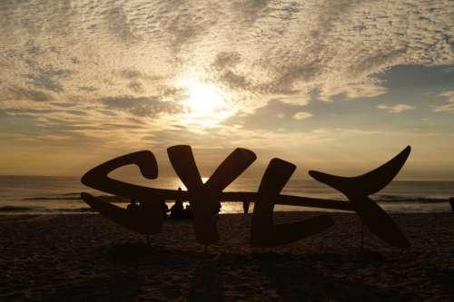 Sylt Sea Sunset Beach North Sea Clouds Summer