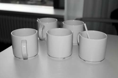 T Coffee Mugs Coffee Break Empty Cup Ceramic Cups