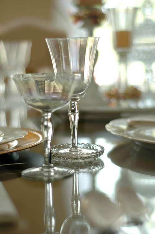 Table Setting Dining Room Window Table Setting
