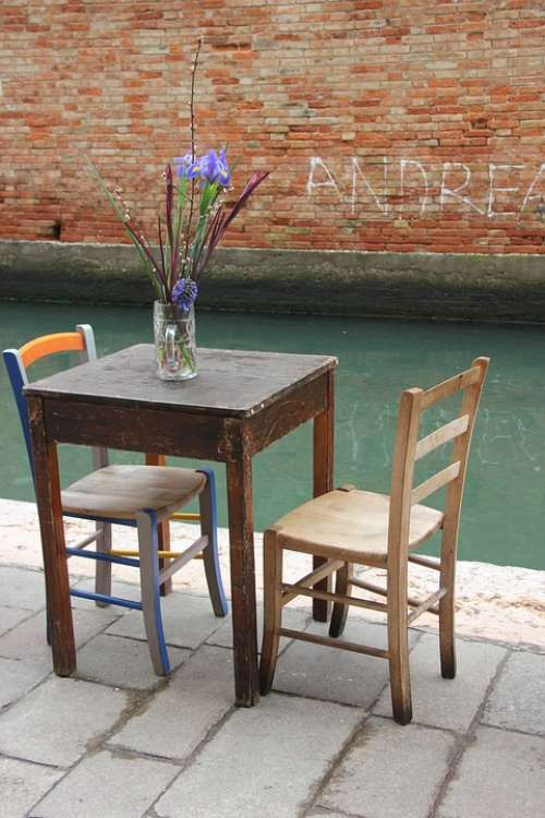 Table Chair Seat Idyllic Cozy Cookie The Channel