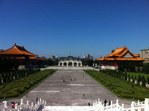 Taiwan Taipei Chiang Kai-Shek Memorial Hall