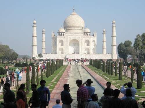 Taj Mahal India Agra Monument Seven Wonders