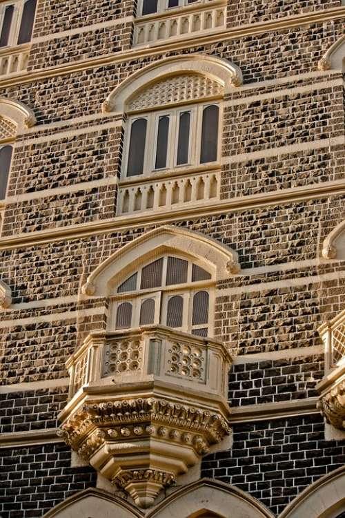 Taj Mahal Hotel Mumbai Balcony India Windows