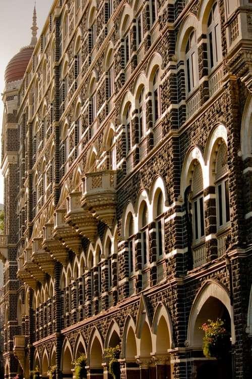 Taj Mahal Hotel Mumbai Bombay Hotel Facade Luxury