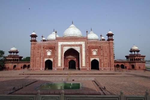 Taj Mahal Mosque Taj Mahal Complex Taj Architecture
